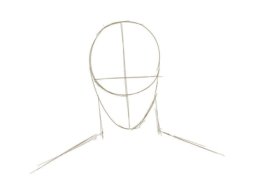 03. Как нарисовать дэдпула поэтапно