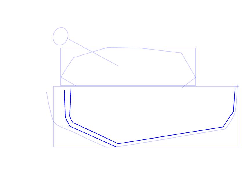 06. Как нарисовать танк поэтапно