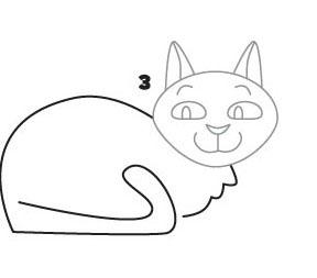 04. Как нарисовать кошку