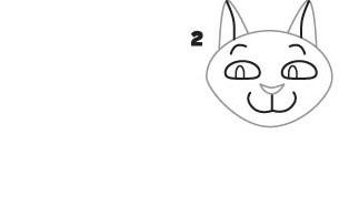 03. Как нарисовать кошку