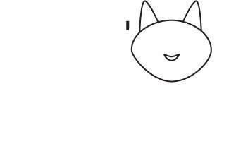 02. Как нарисовать кошку