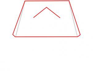 03. Как нарисовать дом - несложный вариант для детей