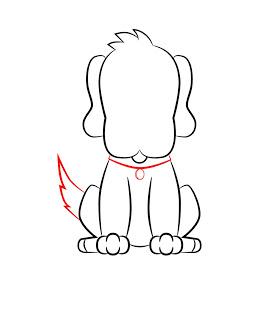 06. Как нарисовать собаку