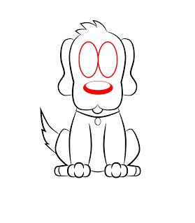 07. Как нарисовать собаку