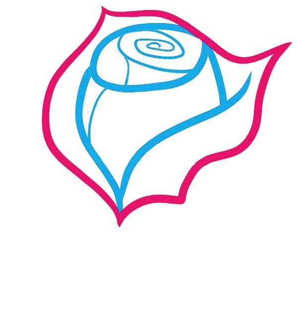 05. Как рисовать розу - семь простых шагов