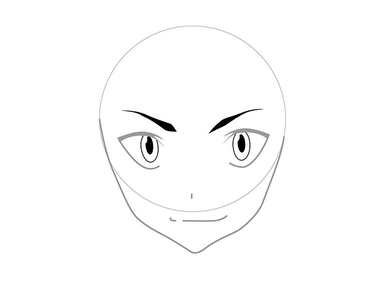 03. Как рисовать аниме – рисуем Рюко Матои