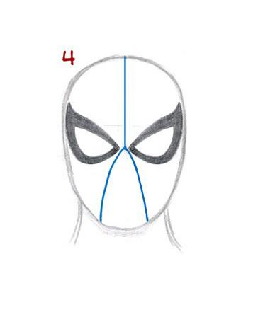 04. Как нарисовать человека паука начинающим