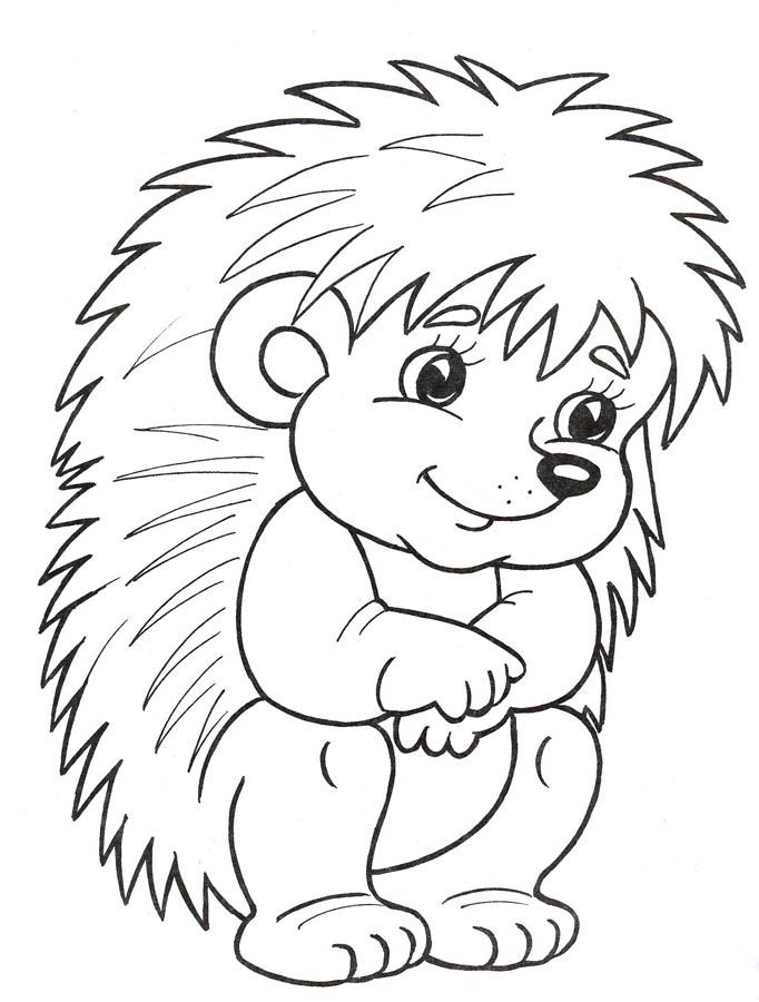 Полезные раскраски для детей 3-4 лет