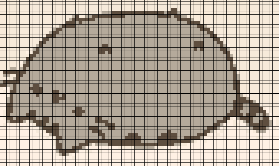Картинки по клеточкам животные на большую тетрадь
