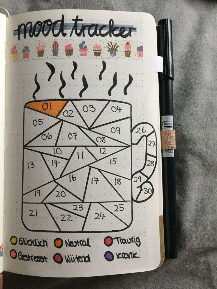 ЛД Первая Страница-календарь настроения - чашка