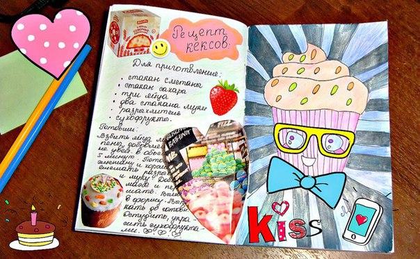 личный дневник- еда