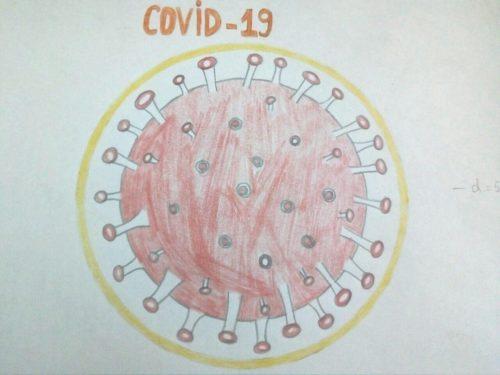 Миниатюра к статье Как нарисовать коронавирус