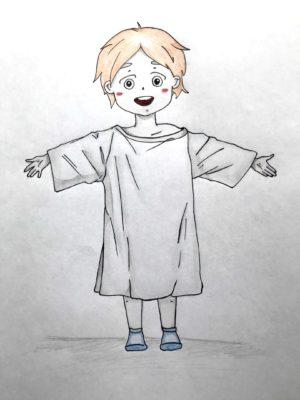 Миниатюра к статье Как нарисовать ребенка поэтапно