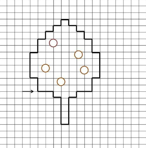 Миниатюра к статье Графический диктант по клеточкам для дошкольников