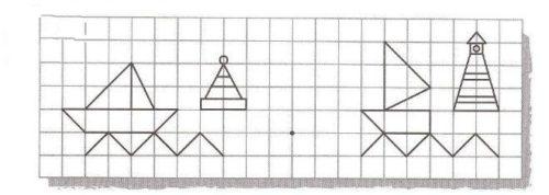 Миниатюра к статье Графический диктант по клеточкам для 2 класса