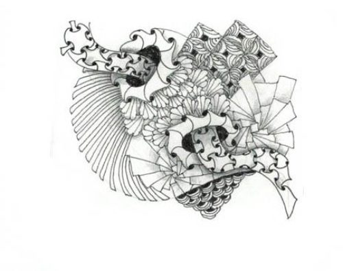 Миниатюра к статье Зентангл узоры — сможет нарисовать каждый!