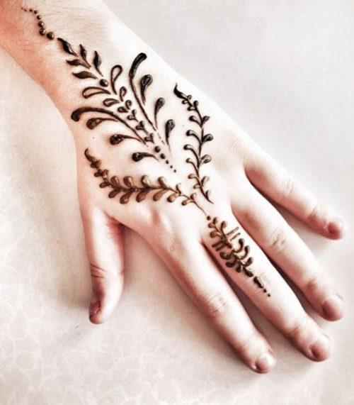 Миниатюра к статье Мехенди на руке для начинающих