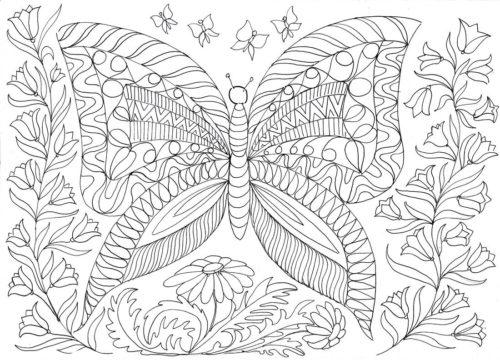 Миниатюра к статье Раскраски для взрослых – интересно и полезно!