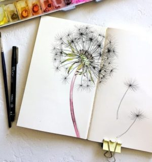 Миниатюра к статье Картинки для срисовки в скетчбук