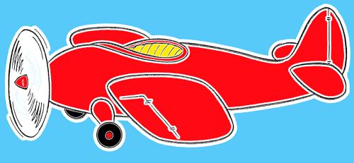Миниатюра к статье Как нарисовать самолет для детей