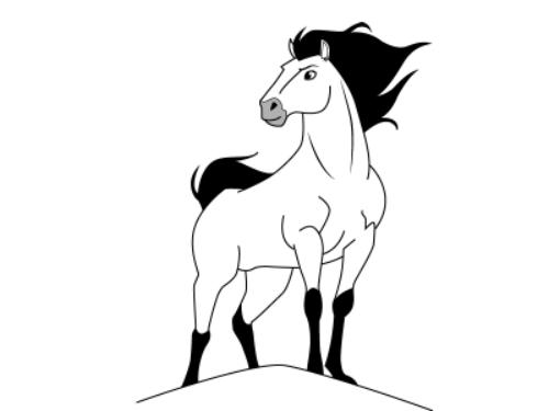 Миниатюра к статье Как нарисовать лошадь поэтапно