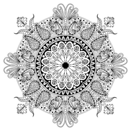 Миниатюра к статье Мандалы для раскрашивания распечатать со значением – легко!