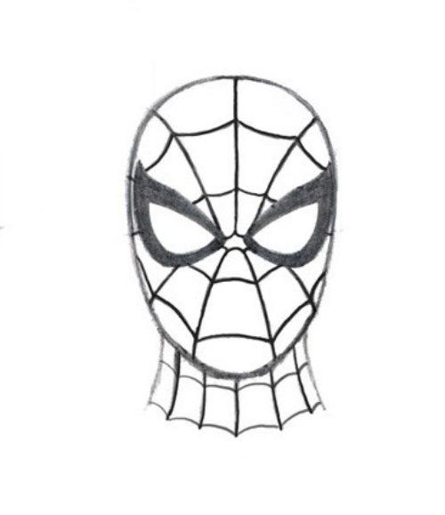 Миниатюра к статье Как нарисовать человека паука начинающим